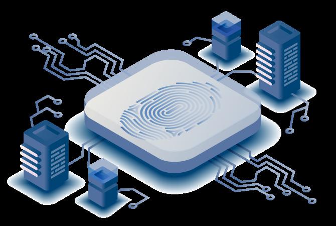 MB FingerMetrica: Fingerabdruck Sensoren, Fingerprint Hard- und Software