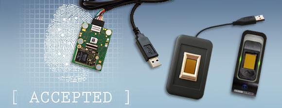 Fingerabdruck Geräte, Fingerprint Geräte und Fingerabdruck Sensoren von MB FingerMetrica,